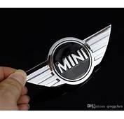 2018 Mini Cooper Logo 3d Car Stickers Metal Emblems For