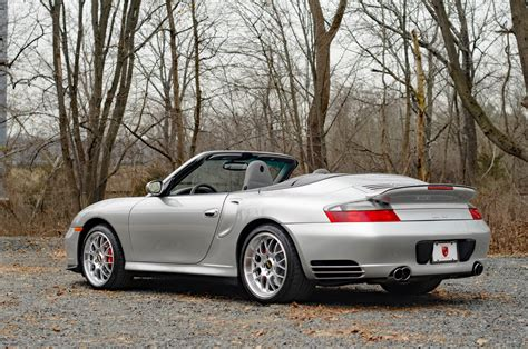2004 Porsche 911 Turbo Cabriolet Turbo Stock # 2403 For