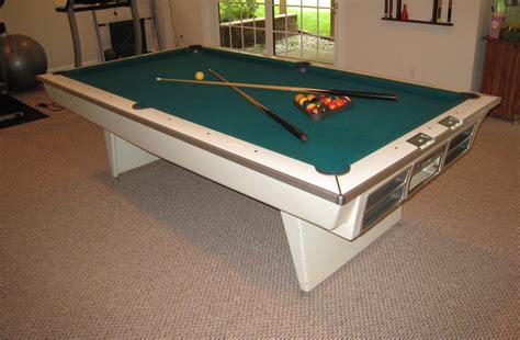 brunswick 8 pool table value of 8 ft brunswick celebrity model hy