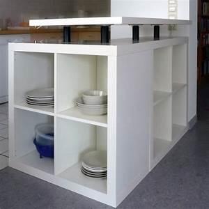 Ikea Hack Expedit : diy ikea hack l shaped expedit kitchen island diy kitchen decor pinterest home islands ~ Frokenaadalensverden.com Haus und Dekorationen