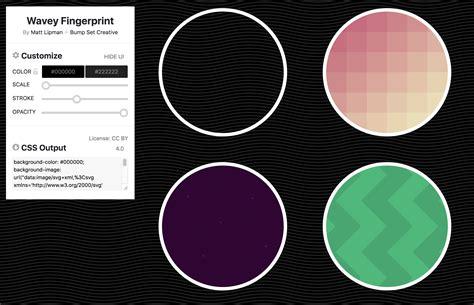 svg background color websites to generate svg patterns css tricks