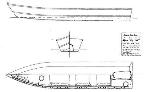 Dory Boat Drawing by Clarence River Dory Welsford Designs