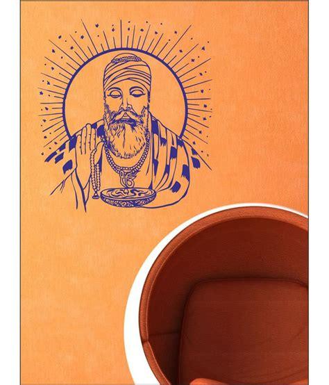 wall1ders guru nanak blue wall stickers buy wall1ders