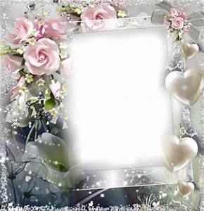 Cadre Avec Photo : montage photo cadre avec des fleurs pixiz ~ Teatrodelosmanantiales.com Idées de Décoration