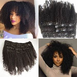 Mongolian Virgin Hair African American Afro Kinky Curly