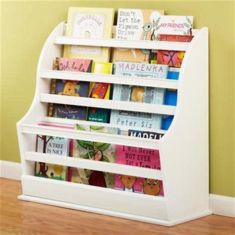 Kid Bookcase Storage by White Floor Book Bin Land Of Nod