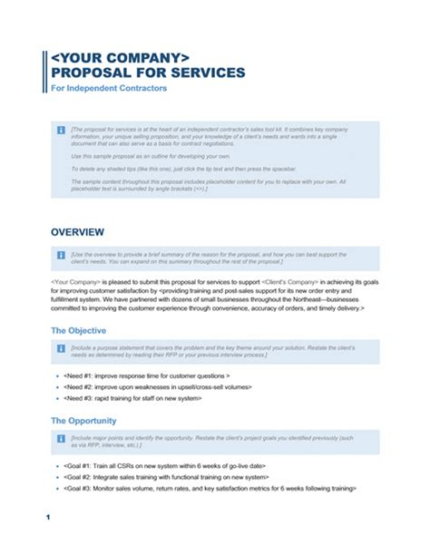 business proposal template microsoft word templates
