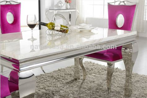 wholesale a8028 wholesale white marble 8 seater dining