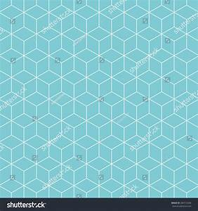 Cubes Pattern Background Vintage Vector Pattern Stock ...