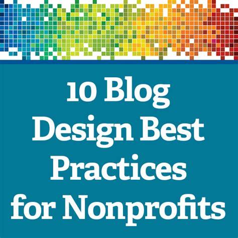 10 blog design best practices for nonprofits