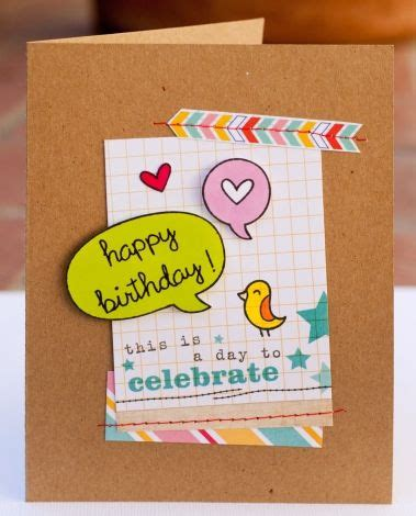 happy birthday card elles studio  images