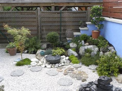 Mini Jardin Zen Couleurs  Jardin  Pinterest Minis
