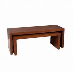 Table Basse Gigogne : tables basses tables et chaises ensemble 2 tables basses ~ Zukunftsfamilie.com Idées de Décoration
