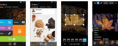 picsart for windows phone updated with new interface tools more also brings a crashing bug