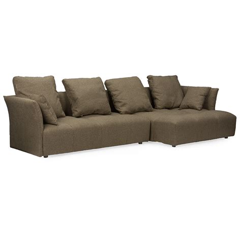 right facing sectional sofa baxton studio abbott contemporary brown fabric right