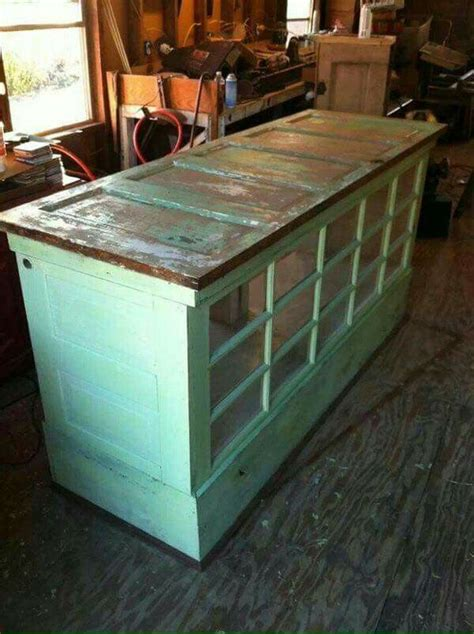 kitchen island made from doors easy island or kitchen buffet made out of doors 9410