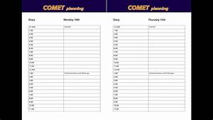 Comet Time Management - Simple Diary System