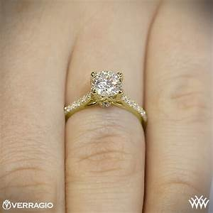 verragio 4 prong pave engagement ring 1938