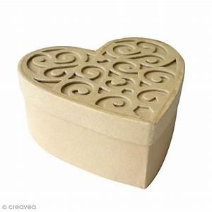 Boite En Carton Avec Couvercle : bo te coeur en carton avec couvercle 15 cm boite en ~ Dode.kayakingforconservation.com Idées de Décoration