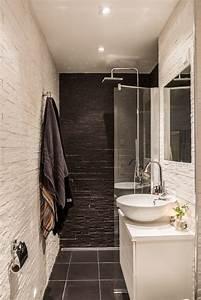 Salle De Bain Etroite : pour une petite salle de bain tout en longueur salle de bain pinterest ~ Melissatoandfro.com Idées de Décoration