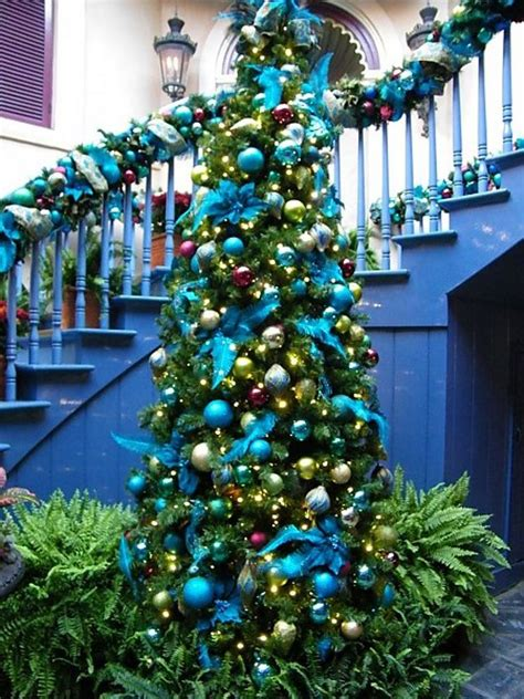 awesome blue christmas decorations ideas christmas