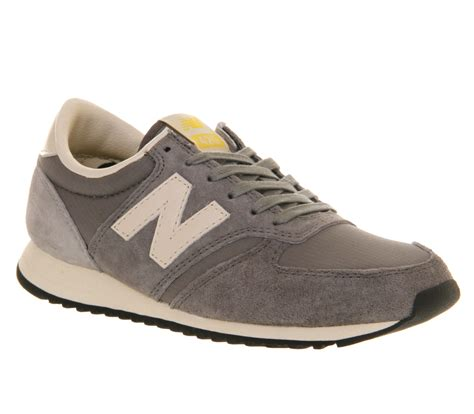 new balance u420 in gray for lyst