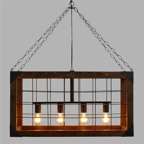 rectangular farmhouse pendant l world market