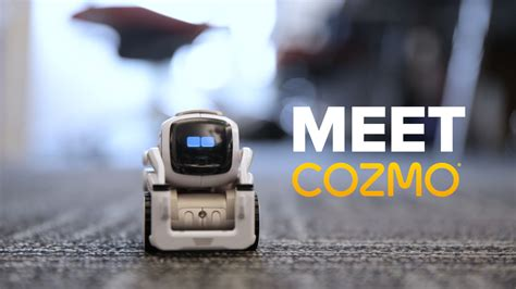 Meet Cozmo, the AI robot with emotions - Video - CNET