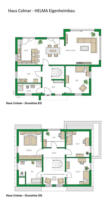 Einfamilienhäuser Grundrisse by Grundriss Einfamilienhaus Modern Mit Satteldach