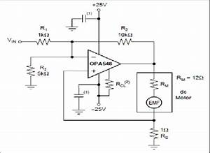Circuit Diagram Of Motor Controller