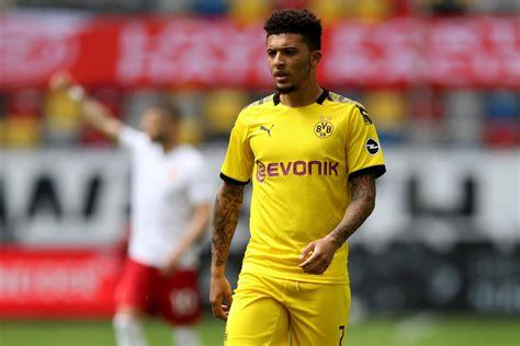 Borussia Dortmund set Jadon Sancho asking price at £117m ...