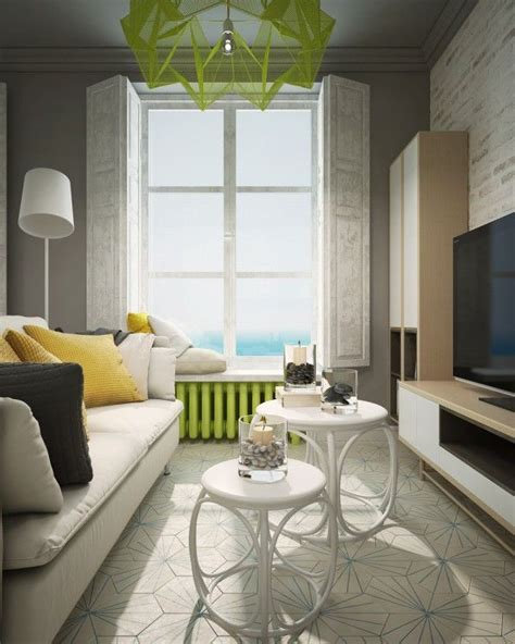 a pair of small apartments with dazzling neon