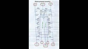 Phono Preamp Circuit Diagrams  Magnetic  U0026 Ceramic