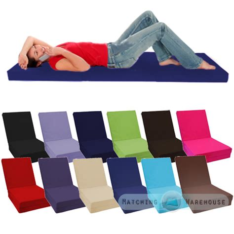 100 cotton fold out cube guest z bed chair cube
