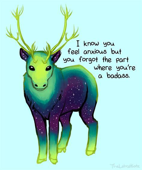 cute animal illustrations merged  powerful