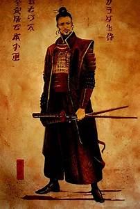 60+ Epic Samurai Artwork w/ Inspirational Miyamoto Musashi ...