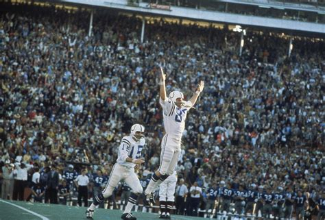 This Week In Baltimore Sports History Jim Obrien Kicks