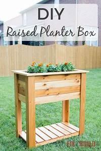 raised planter box plans DIY Raised Planter Box | Plans & Video | FixThisBuildThat