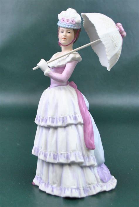 home interiors figurines home interiors victorian lady w parasol homco 1431 figurine 999 avon figurine collectibles