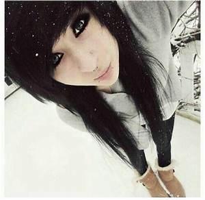 Black Emo Hair