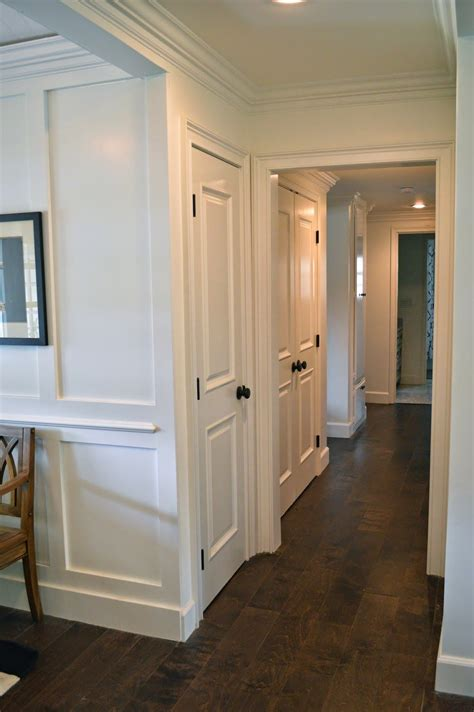 Door Knobs On White Doors by The Cape Cod Ranch Renovation Great Room Entry Like The
