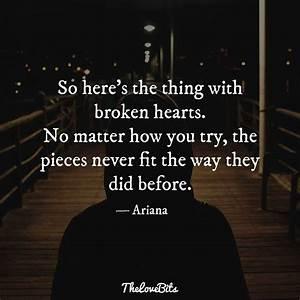 50 Broken Heart... Heart Burst Quotes