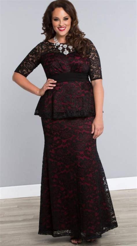 Semi formal dresses plus size juniors - PlusLook.eu Collection