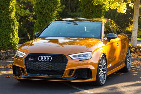 2018 audi rs 3 sedan h r special springs lp