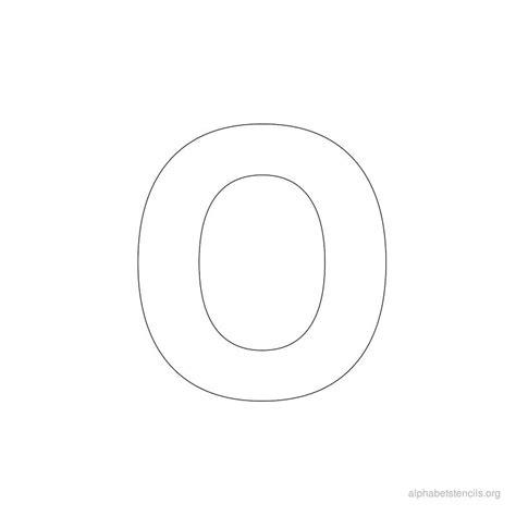 printable letters o alphabet stencils o printable stencils alphabet o