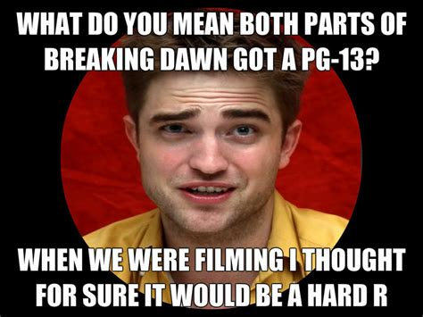 Robert Memes - robert pattinson meme by nickelodeonlover on deviantart