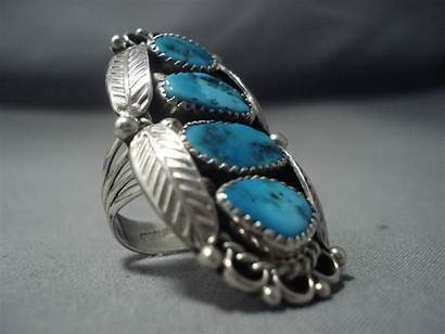 Turquoise Navajo Sterling Jewelry Native American Silver