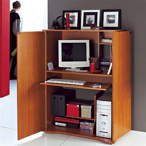 bureau dans armoire armoire bureau gigaoctet merisier anniversaire 40 ans