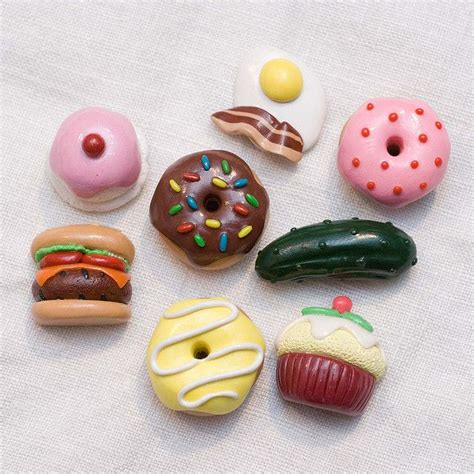 magnet cuisine polymer clay food fridge magnets polymer clay diy