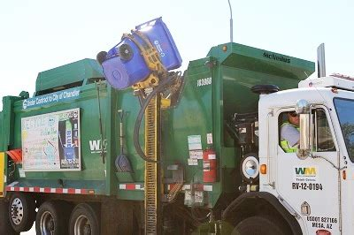 trash services city  chandler